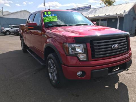 2012 Ford F-150 for sale at HACKETT & SONS LLC in Nelson PA
