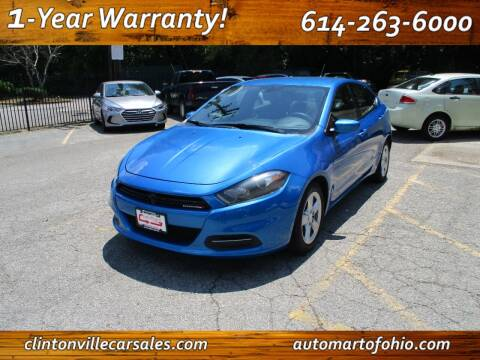 2015 Dodge Dart for sale at Clintonville Car Sales - AutoMart of Ohio in Columbus OH