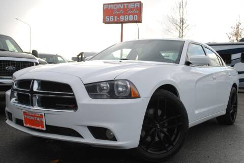 2012 Dodge Charger for sale at Frontier Auto & RV Sales in Anchorage AK