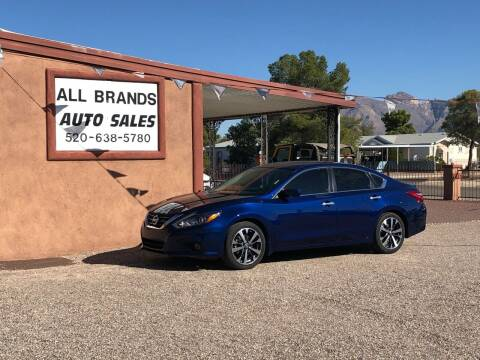 2016 Nissan Altima for sale at All Brands Auto Sales in Tucson AZ