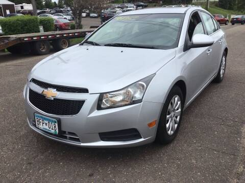 2011 Chevrolet Cruze for sale at Sparkle Auto Sales in Maplewood MN
