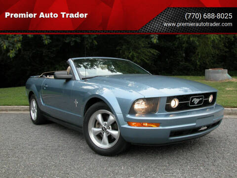 2007 Ford Mustang for sale at Premier Auto Trader in Alpharetta GA