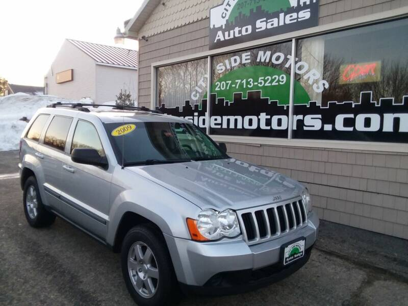 2009 Jeep Grand Cherokee for sale at CITY SIDE MOTORS in Auburn ME