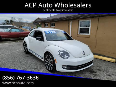 2012 Volkswagen Beetle for sale at ACP Auto Wholesalers in Berlin NJ