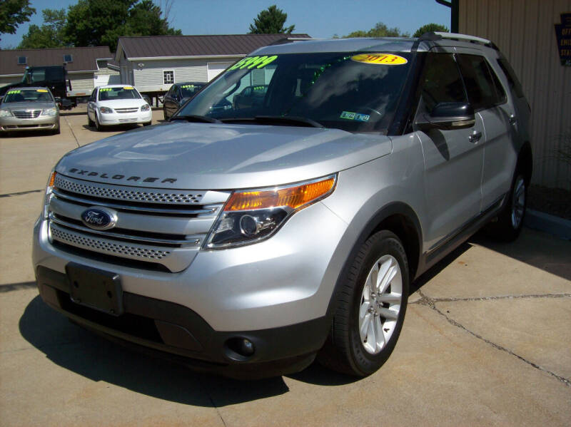 2013 Ford Explorer for sale at Summit Auto Inc in Waterford PA