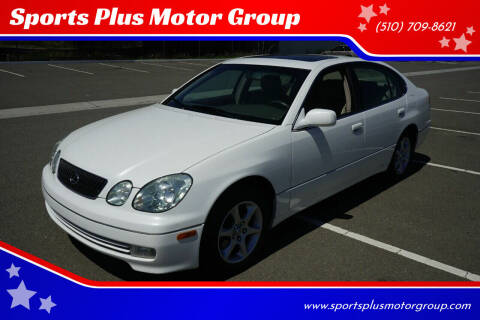 2002 Lexus GS 300 for sale at Sports Plus Motor Group LLC in Sunnyvale CA