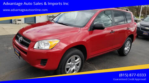 2012 Toyota RAV4 for sale at Advantage Auto Sales & Imports Inc in Loves Park IL