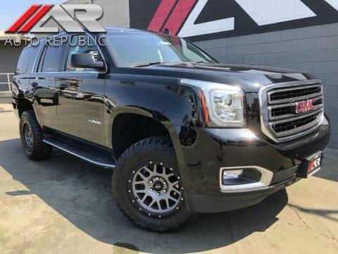 2018 GMC Yukon for sale at Auto Republic Fullerton in Fullerton CA