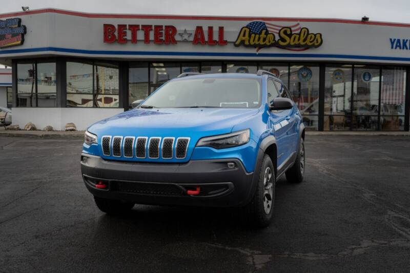 2020 Jeep Cherokee for sale at Better All Auto Sales in Yakima WA