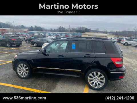 2011 Mercedes-Benz GLK for sale at Martino Motors in Pittsburgh PA