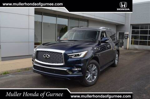 2019 Infiniti QX80 for sale at RDM CAR BUYING EXPERIENCE in Gurnee IL