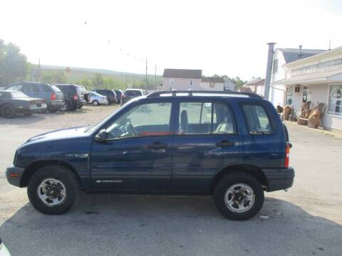 2002 Chevrolet Tracker for sale at ROUTE 119 AUTO SALES & SVC in Homer City PA