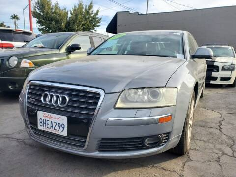 2009 Audi A8 for sale at MCHENRY AUTO SALES in Modesto CA