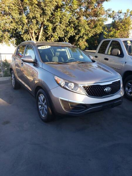 2015 Kia Sportage for sale at Thomas Auto Sales in Manteca CA