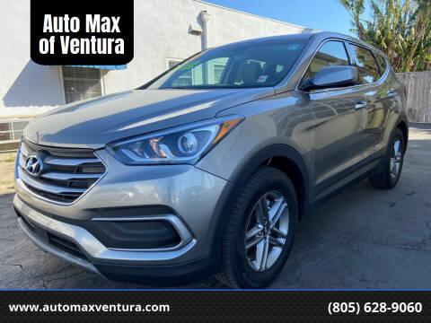 2018 Hyundai Santa Fe Sport for sale at Auto Max of Ventura - Automax 3 in Ventura CA