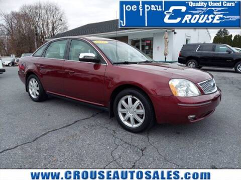 2007 Ford Five Hundred for sale at Joe and Paul Crouse Inc. in Columbia PA
