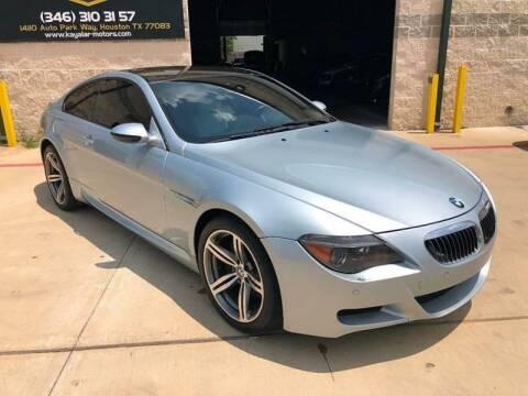 2007 BMW M6 for sale at KAYALAR MOTORS in Houston TX
