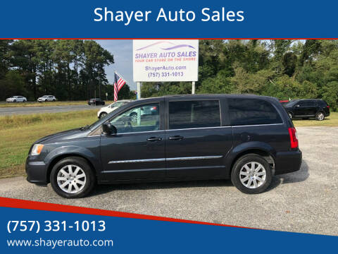 2014 Chrysler Town and Country for sale at Shayer Auto Sales in Cape Charles VA