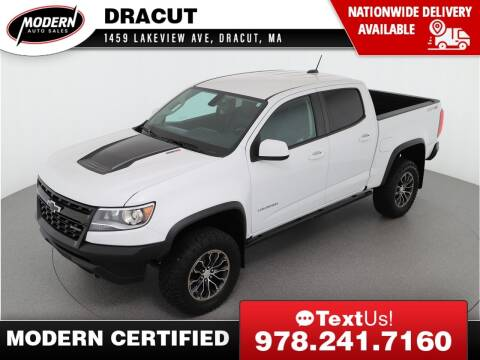 2017 Chevrolet Colorado for sale at Modern Auto Sales in Tyngsboro MA