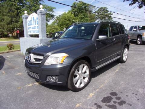 2010 Mercedes-Benz GLK for sale at Good To Go Auto Sales in Mcdonough GA