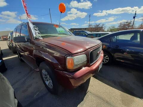 2000 GMC Yukon for sale at Tower Motors in Brainerd MN