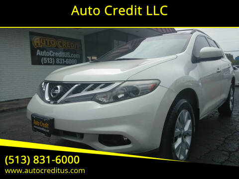 2011 Nissan Murano for sale at Auto Credit LLC in Milford OH