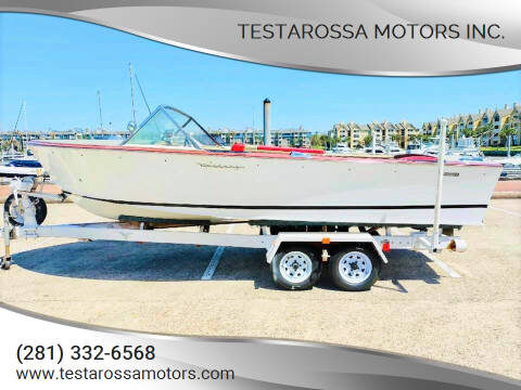 1966 Century Resorter 17' feet for sale at Testarossa Motors Inc. in League City TX