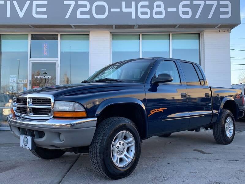 2001 Dodge Dakota for sale at Shift Automotive in Denver CO
