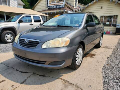 2005 Toyota Corolla for sale at Auto Town Used Cars in Morgantown WV