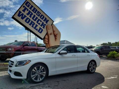 2018 Mercedes-Benz C-Class for sale at Gibson Truck World in Sanford FL