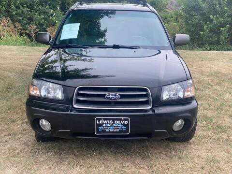 2003 Subaru Forester for sale at Lewis Blvd Auto Sales in Sioux City IA