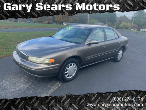 2002 Buick Century for sale at Gary Sears Motors in Somerset KY