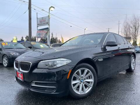 2014 BMW 5 Series for sale at Real Deal Cars in Everett WA