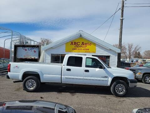 2003 Chevrolet Silverado 2500HD for sale at ABC AUTO CLINIC - Chubbuck in Chubbuck ID