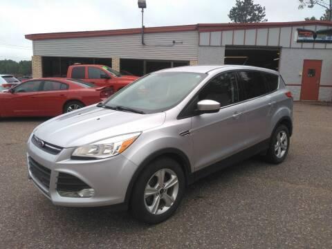 2015 Ford Escape for sale at Pepp Motors in Marquette MI
