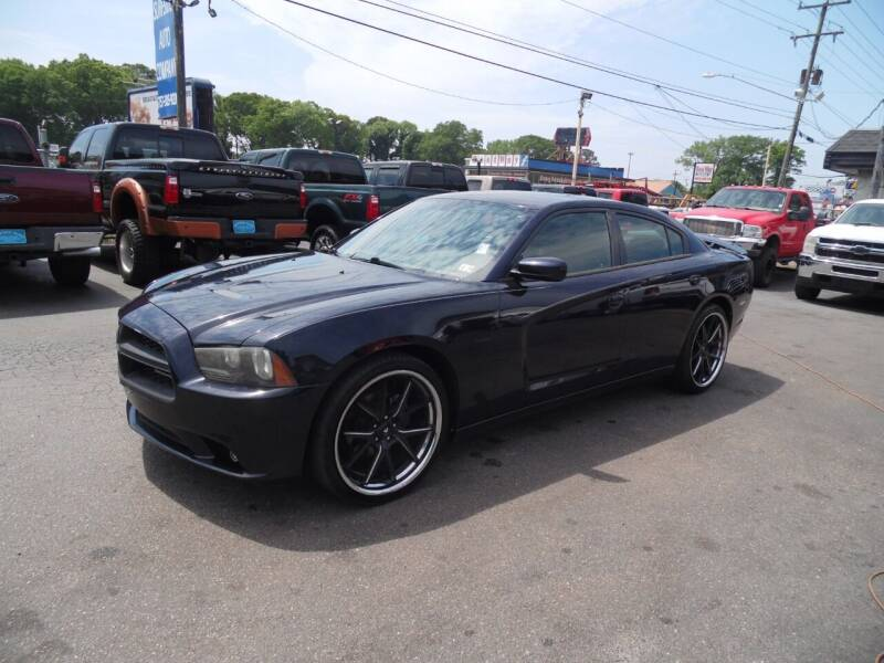 2012 Dodge Charger for sale at Surfside Auto Company in Norfolk VA