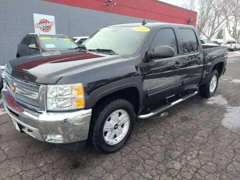 2012 Chevrolet Silverado 1500 for sale at Stach Auto in Janesville WI