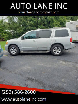 2006 Nissan Armada for sale at AUTO LANE INC in Henrico NC