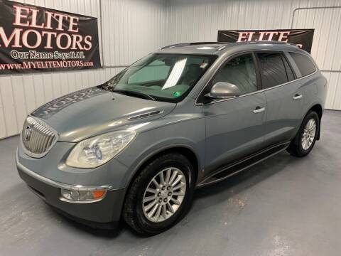 2008 Buick Enclave for sale at Elite Motors in Uniontown PA