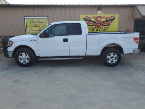 2011 Ford F-150 for sale at BIG 'S' AUTO & TRACTOR SALES in Blanchard OK