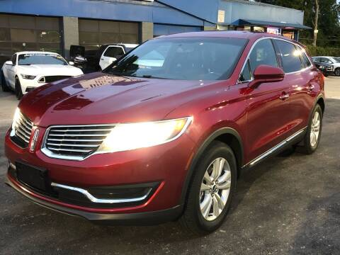 2016 Lincoln MKX for sale at Capital Motors in Raleigh NC