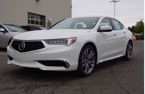2018 Acura TLX for sale at CALIBER AUTO SALES LLC in Cleveland OH