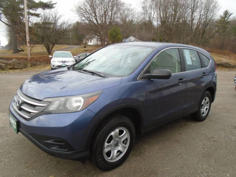 2013 Honda CR-V for sale at Wimett Trading Company in Leicester VT