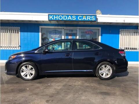 2010 Lexus HS 250h for sale at Khodas Cars in Gilroy CA