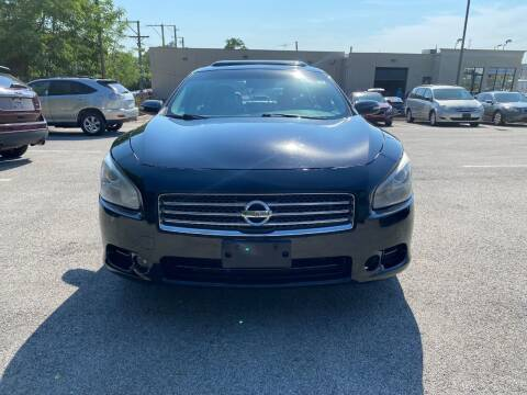 2011 Nissan Maxima for sale at Platinum Cars Exchange in Downers Grove IL