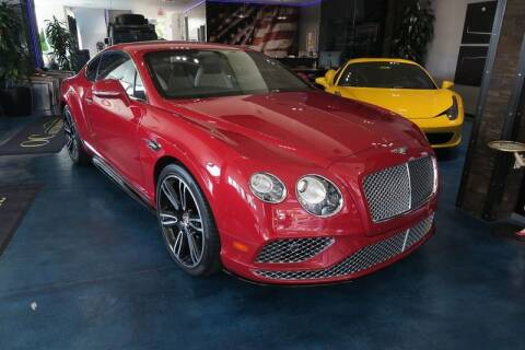 2016 Bentley Continental for sale at OC Autosource in Costa Mesa CA
