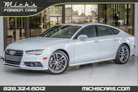 2016 Audi S7 for sale at Mich's Foreign Cars in Hickory NC