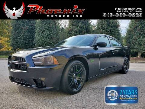 2012 Dodge Charger for sale at Phoenix Motors Inc in Raleigh NC