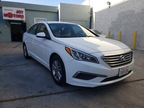 2016 Hyundai Sonata for sale at Joy Motors in Los Angeles CA