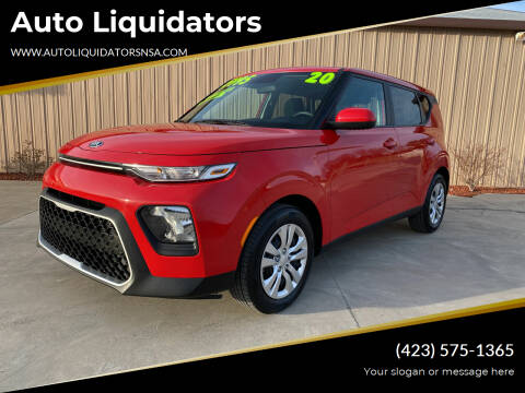 2020 Kia Soul for sale at Auto Liquidators in Bluff City TN